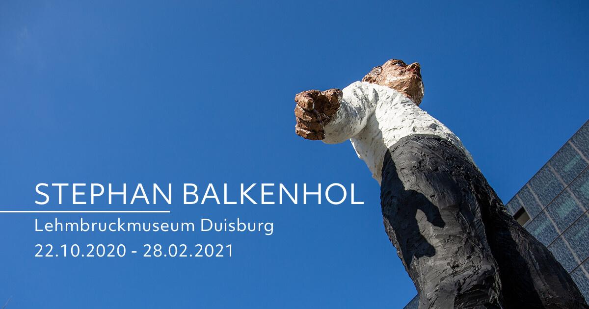 Retrospektive »Stephan Balkenhol« im Lehmbruckmuseum Duisburg