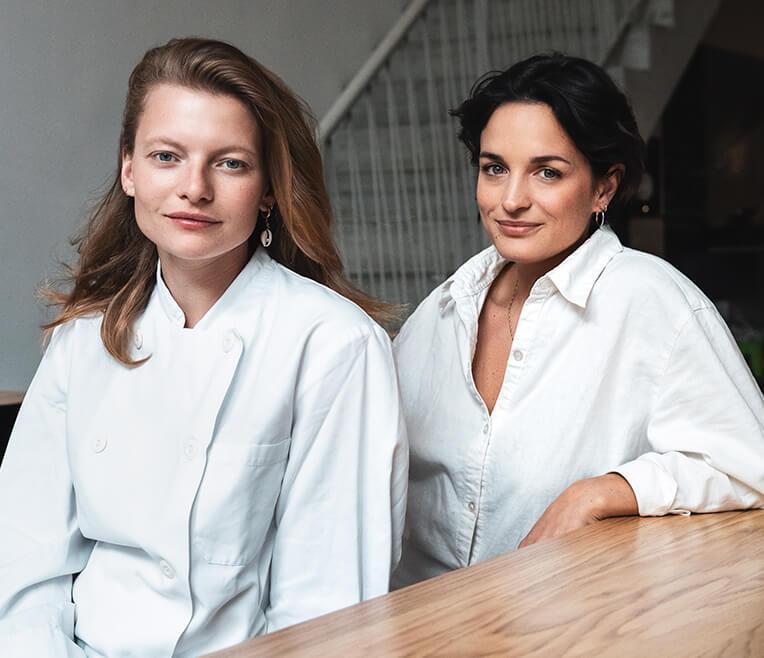 CUPRA x CREATORS – Cäcilia Baldszus & Jessica-Joyce Sidon, Gründerinnen Restaurant BALDON in Berlin
