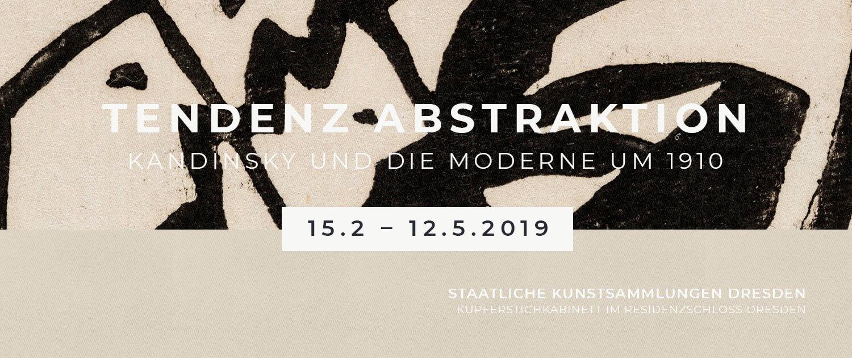 Ausstellung »Tendenz Abstraktion. Kandinsky und die Moderne um 1910   Hiroshi Sugimoto. Fotografien« in den Staatlichen Kunstsammlungen Dresden