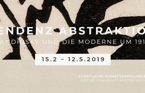Ausstellung »Tendenz Abstraktion. Kandinsky und die Moderne um 1910 | Hiroshi Sugimoto. Fotografien« in den Staatlichen Kunstsammlungen Dresden