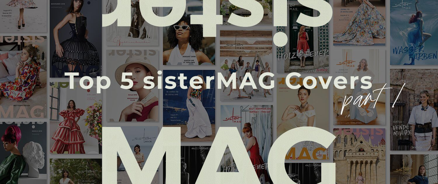 Top 5 sisterMAG cover - part 1 - sisterMAG
