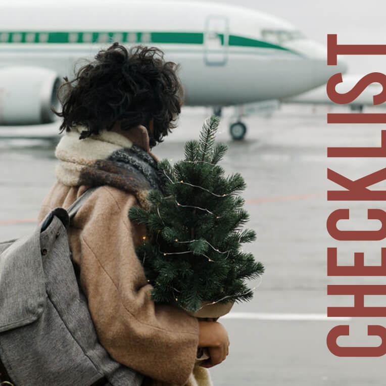 For the festive season: Checklist Going Home