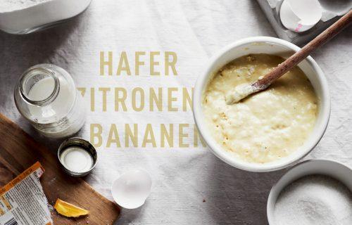 World Pancake Day 2017 – Hafer Zitronen Bananen Pancakes