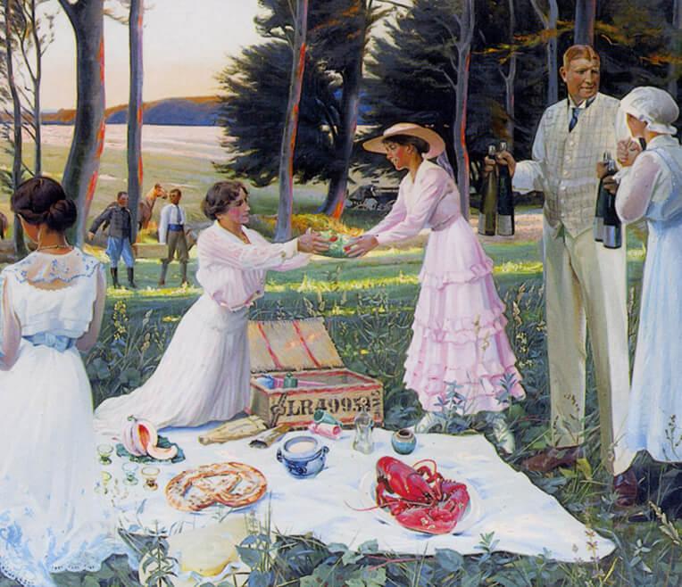 Die Historie des Picknicks