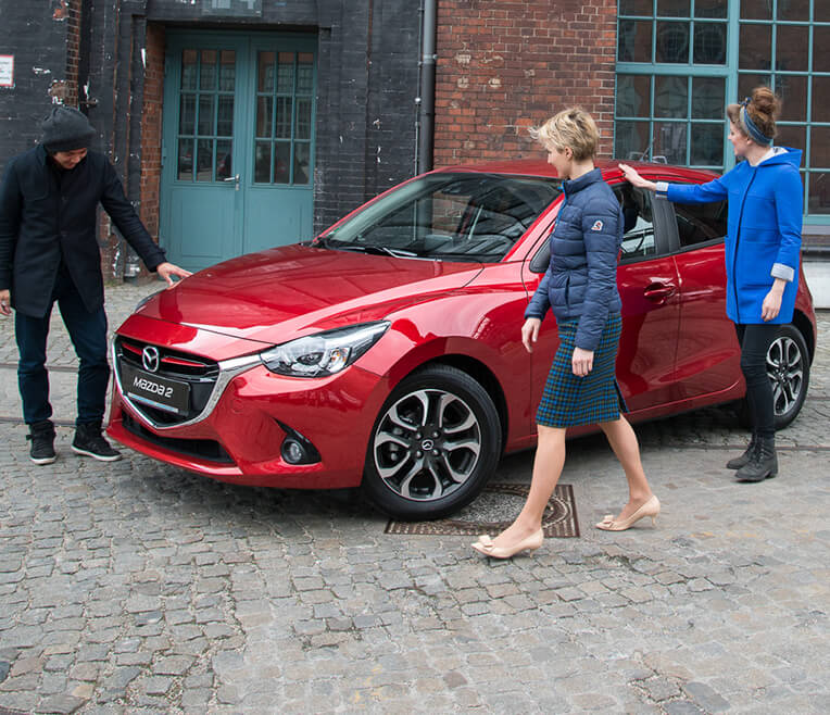 An design tour in Berlin with the Mazda2