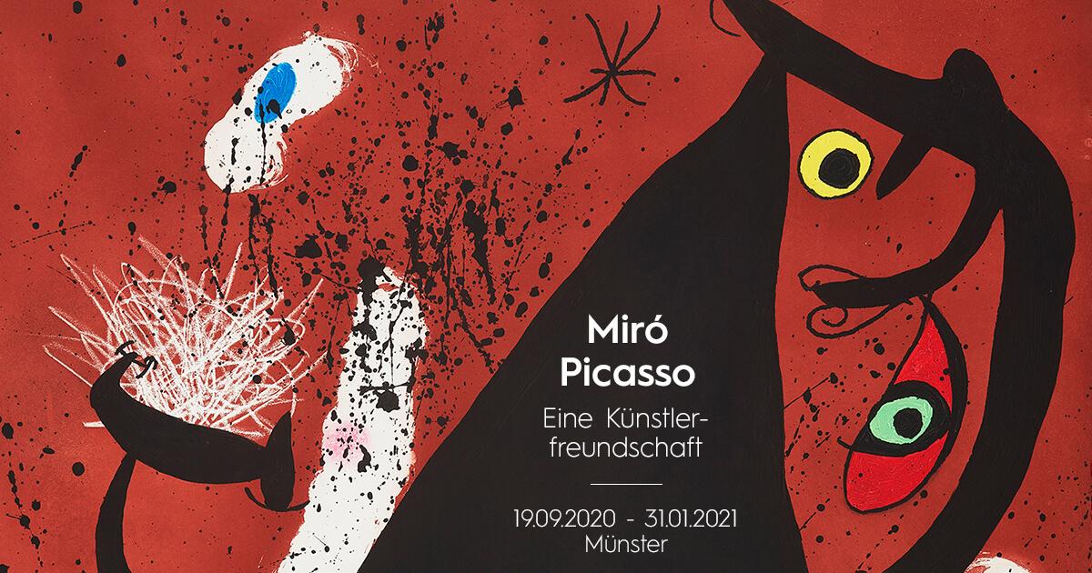 Picasso / Miro. Eine Künstlerfreundschaft im KUNSTMUSEUM Münster