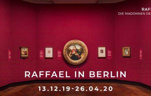 Zur Ausstellung »Raffael in Berlin. Die Madonnen der Gemäldegalerie« im Kulturforum, Gemäldegalerie