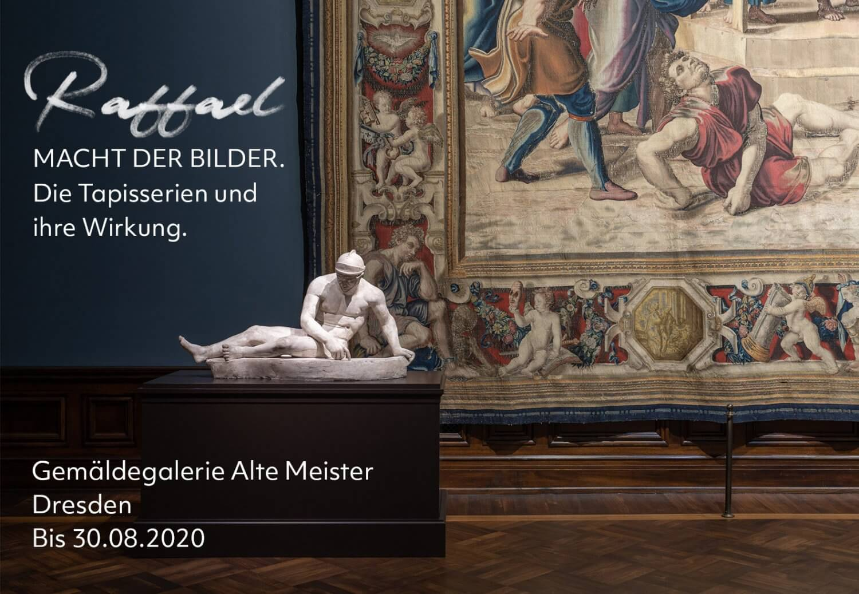 Ausstellung zum Raffael-Jahr in Dresden: »Raffael – Macht der Bilder. Die Tapisserien und ihre Wirkung«