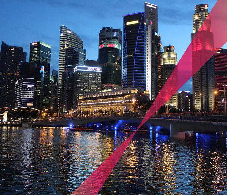 Singapur – Stadt der Lichter