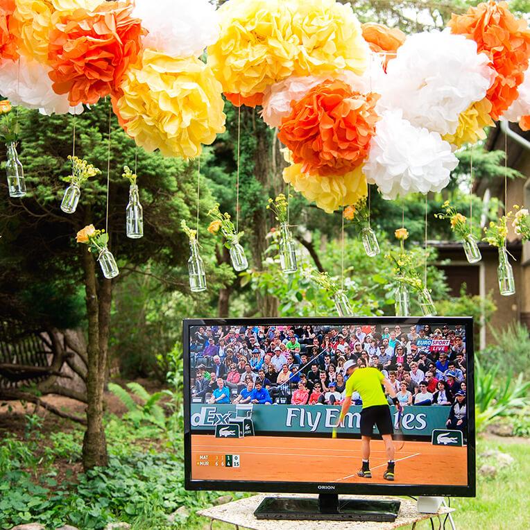 Draußen Schauen DVB-T Party