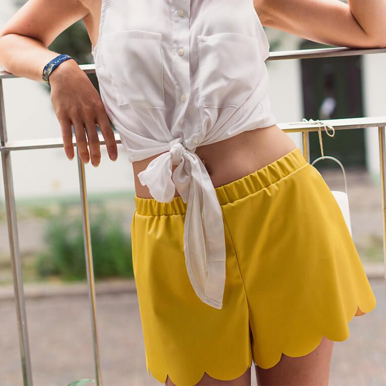 Tutorial Sommer-Shorts