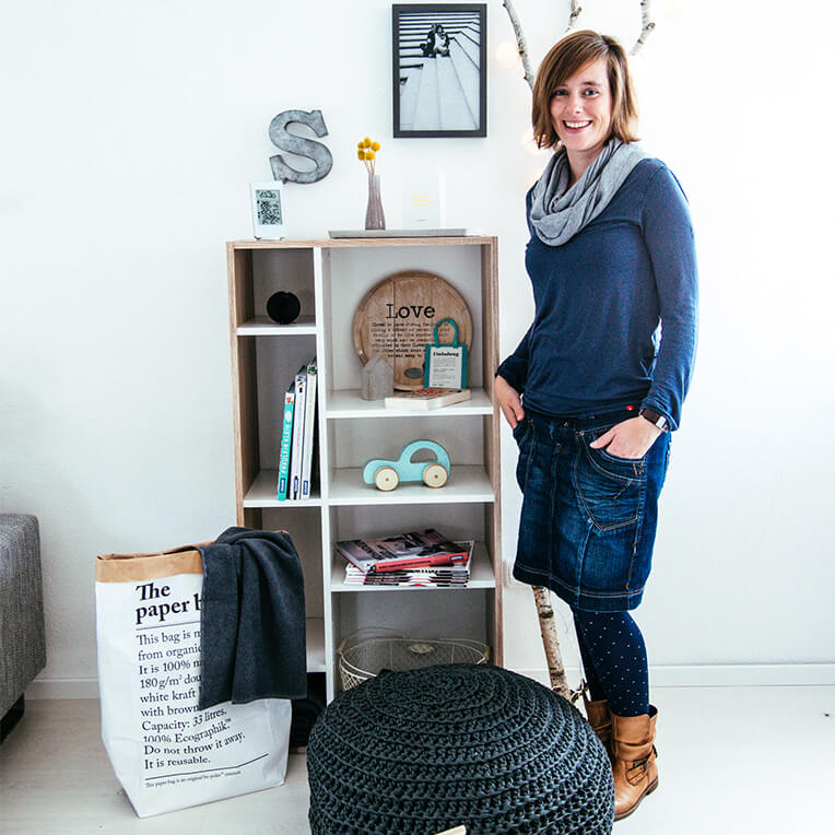 The #shelfie interview with Kerstin from sanvie.de