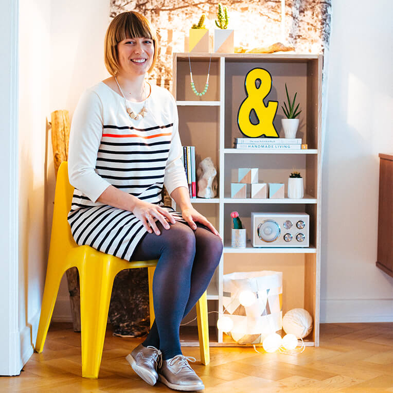 The #shelfie interview with Trixi from Frau Sieben