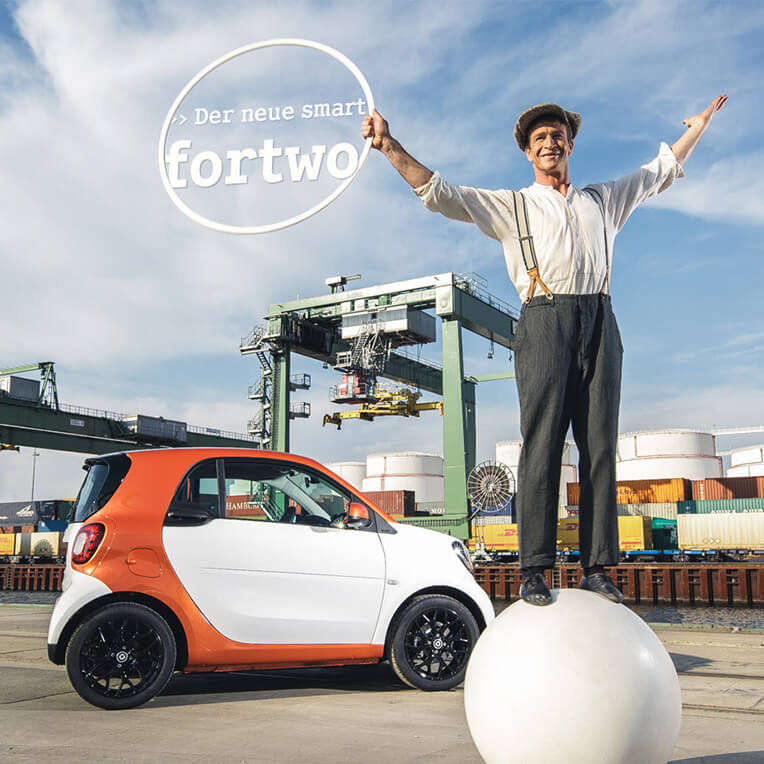 sisterMAG meets the new smart fortwo
