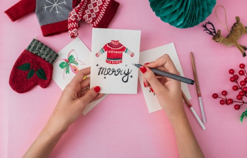Analog Christmas Cards  – the sisterMAG Postcard Initiative