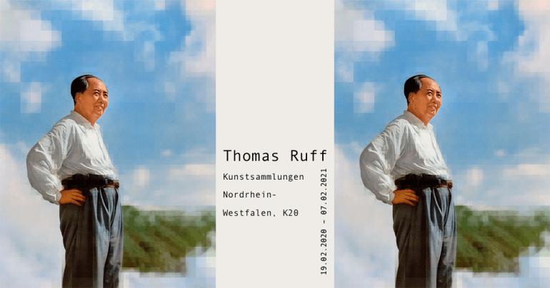 """Kunstsammlungen Nordrhein-Westfalen, K20: """"Thomas Ruff"""""""