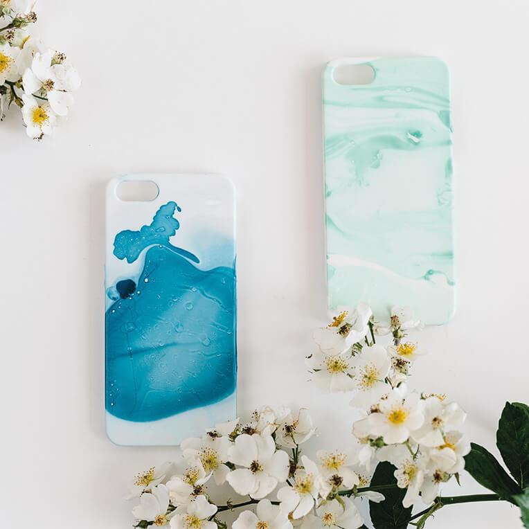 Digital DIY – Marble iPhone case